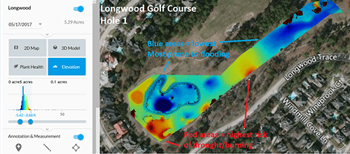 Aerial Images From Drones Helping Texas Golf Courses With Maintenance, Marketing
