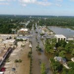 affordable aerial photography residential flooding